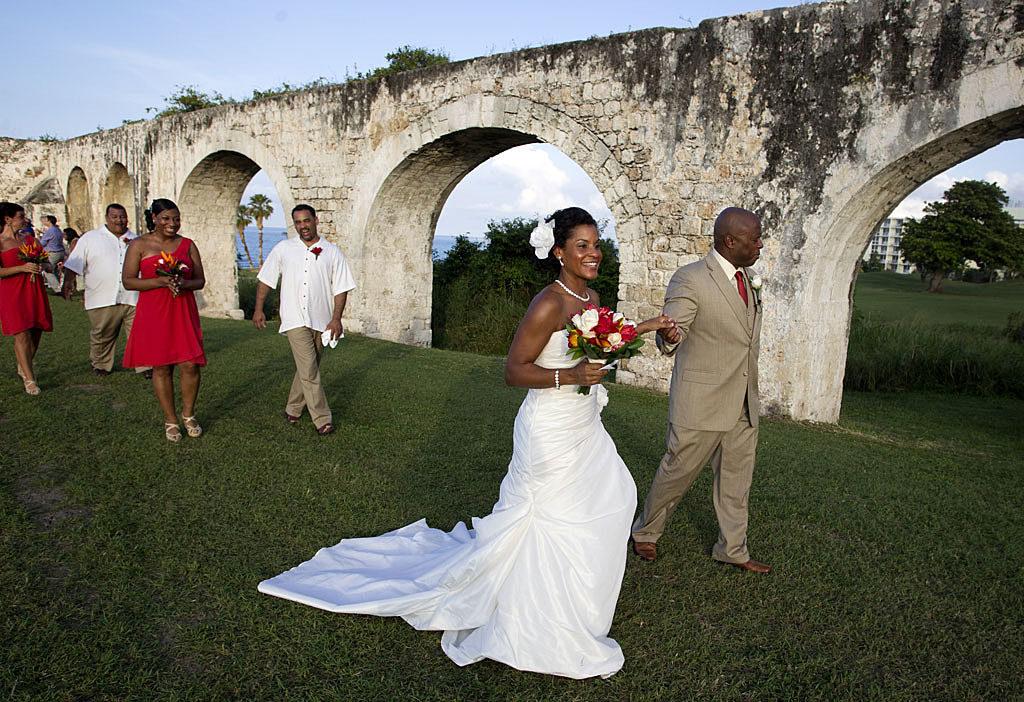 Kim Brannan Aqueduct Jamaica Wedding