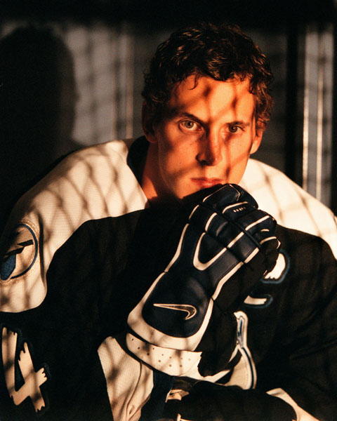 Tampa Bay Lightning new team captain Vincent Lecavalier, 20, before the NHL 2000-2001 season begins in Tampa.