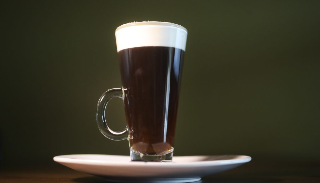 Traditional Irish coffee, at Strandhill Public, 10288 Causeway Blvd., Wednesday, Oct. 30, 2019 in Tampa.