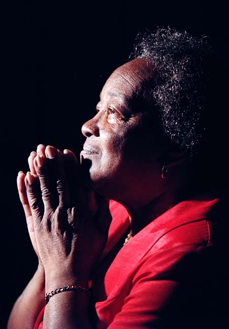 """A hysterectomy and prayer helped Pearl M. Smith deal with menopause. """"I didn't go through a lot of agony,"""" Smith said regarding menopause. """"Prayer does help."""" irata """"dealing with menopause"""""""